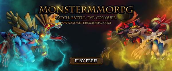 Pokemon Style Monster MMORPG