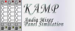 KAMP - Audio Mixer Panel Simulation